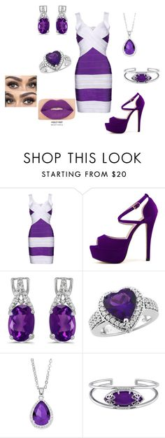 """""""Summer Date Night"""" by justbrandy79 on Polyvore featuring BillyTheTree, City Rox, Julianna B and Smashbox"""