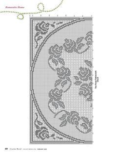 Kira scheme crochet: Scheme crochet no. 1555