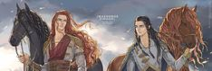 Fingon and Maedhros are my favorite friends/cousin's