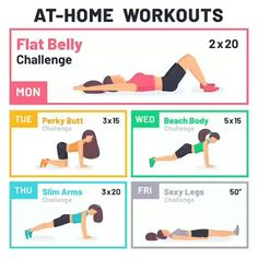 Beginner Workout At Home, Workout Plan For Beginners, At Home Workout Plan, At Home Workouts, Beginner Workouts, Beginner Pilates, Pilates Yoga, Bike Workouts, Swimming Workouts