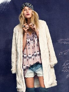 Free People Fairytale in Corduroy Coat at Free People Clothing Boutique