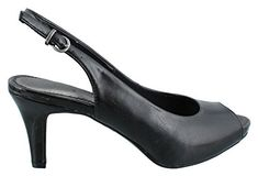Compare prices on LifeStride Peep Toe Slingback Shoes from top online shoe retailers. Save big when buying your favorite Slingback Shoes. Slingback Shoes, Pumps Heels, Shoes Online, Peep Toe, Platform, Image Link, Stuff To Buy, Women