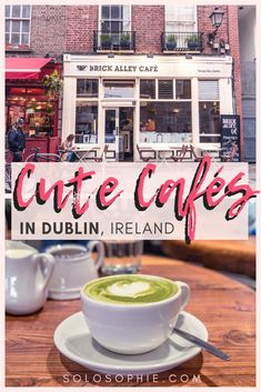 Cute Cafés and coffee shops in Dublin, Ireland. Here's your complete guide … Cute Cafés and coffee shops in Dublin, Ireland. Here's your complete guide to the best of Irish cafes in the Capital of Ireland (the Emerald Isle) Coffee Shops, Best Coffee Shop, Cafe Dublin, Dublin Food, Dublin Bay, Ireland Travel Guide, Dublin Travel, Dublin Shopping, Paris Travel