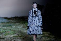 Alexander McQueen fall 2014 - behind the scenes
