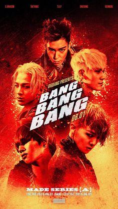 BIGBANG(ビッグバン)G-DRAGON(クォン・ジヨン)、T.O.P(チェ・スンヒョン) TAEYANG(SOL:テヤン:トン・ヨンベ)、DAESUNG(テソン:D-LITE)、スンリ(V.I:SEUNGRI) [YG LIFE] BIGBANG – MADE SERIES [A] 'BANG BANG BANG