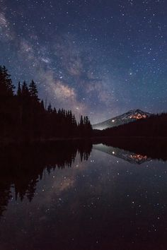 Milky Way Over Mt. Bachelor