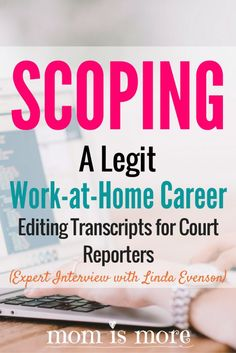 I never knew this kind of work-at-home career existed! I'd LOVE to make money…