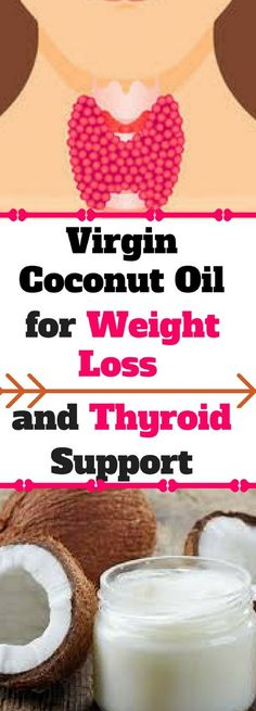 Virgin Coconut Oil for Weight Loss and Thyroid Support.