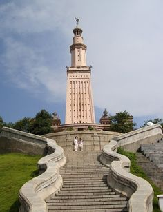 Lighthouse of Alexandria in Changsha China - One of the Seven Wonders of the World