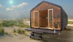 Duurzaam wonen is de toekomst en dat laten de ontwerpers van Wikkelhouse duidelijk zien. Dit kartonnen huis is bovendien binnen een dag leverbaar!