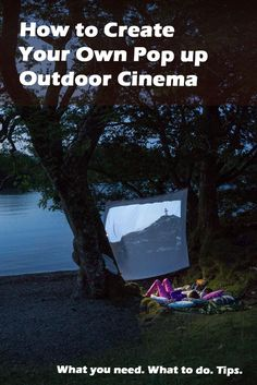 Do you like the idea of creating your own outdoor cinema experience? A DIY outdoor film night can be a great family micro-adventure. We plumped pillows and fired up a portable outdoor projector to show you how you can create your own magical outdoor cinema night with family or friends.
