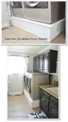 DIY - Washer/Dryer Pedestal. Full Step-by-Step Tutorial.