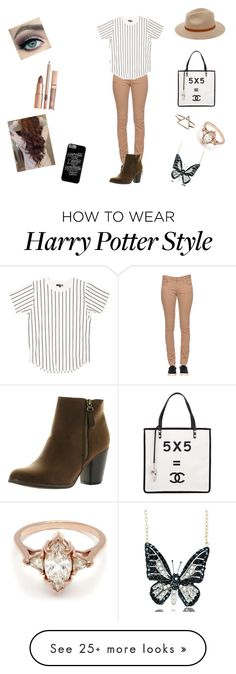 """My favourite"" by charlotteh2001 on Polyvore featuring mode, Twin-Set, Reneeze, Billabong, Andrew Hamilton Crawford, BEA en Chanel"