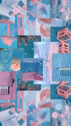 Cute Pastel Wallpaper, Iphone Wallpaper Tumblr Aesthetic, Cute Patterns Wallpaper, Iphone Background Wallpaper, Aesthetic Pastel Wallpaper, Galaxy Wallpaper, Aesthetic Wallpapers, Blue Wallpapers, Pretty Wallpapers