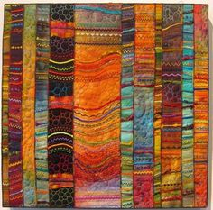 Carol Ann Waugh. Quilt artist based in Santa Fe, New Mexico.