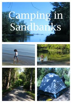 Camping in Sandbanks Provincial Park: Perfect Getaway For Reluctant Campers Beaches In Ontario, Travel With Kids, Family Travel, Ontario Camping, Vacation Trips, Family Vacations, Destinations, Canada Travel, Outdoor Camping