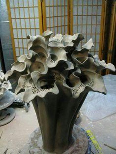 Sculpture in progress by Elizabeth Shriver. lauren