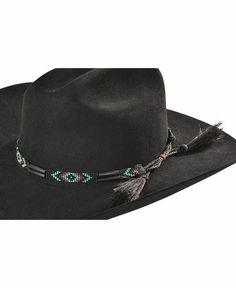 8e50ac34d86 People also love these ideas. Southwest Bone Beaded Hat Band Western Hats