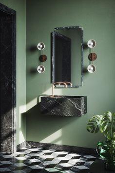 Home Interior Plants Vanitas Studio . Restroom Design, Bathroom Interior Design, Home Interior, Interior And Exterior, Interior Plants, Bathroom Inspiration, Interior Inspiration, Design Inspiration, Toilette Design