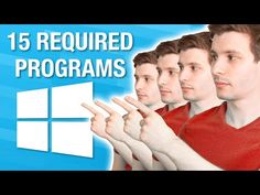 (355) Top 15 REQUIRED Windows Programs Everyone Should Have - YouTube Windows Programs, Problem And Solution, Science And Technology, Programming, How To Become, Channel, Youtube, Top, Iphone