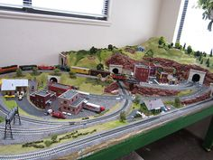 A HO Scale of City/Industry Building Set  @ http://www.hobbylinc.com/model-trains