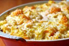 Gratin de butternut au Curry WW, recette d'un bon plat de saison, à base de courge butternut, facile à faire et parfait à servir pour un repas léger