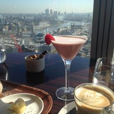 You can get the Shard view from the aqua or Oblix restarant