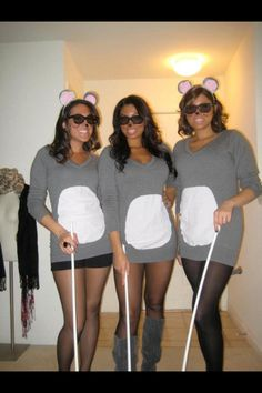 Three blind mice - easy and hilarious costume!