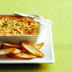 Roasted pepper and Gouda dip - Chatelaine.com Substitute Velata Smoked Gouda and add Velata Coriander Herb!