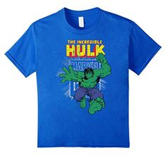 Marvel+Comics+Retro+Shirt Products : The Incredible Hulk Retro Comic Book Stamp Logo T-Shirt