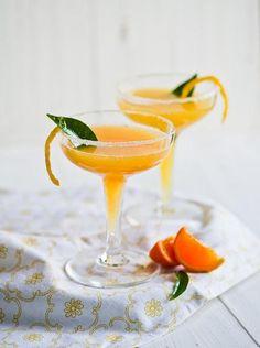 Winter's Citrus, Double Tangerine Cocktail via White on Rice Couple