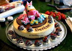 The Pony Cake Pony Cake, Creative Desserts, Love Cupcakes, Cute Cakes, Cupcake Cakes, Birthday Ideas, Sweets, Posts, Cookies