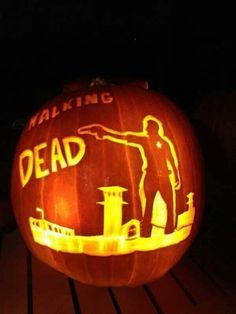 pumpkin carving the walking dead - Google-Suche