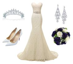 """Princess for a Day"" by princesstempest on Polyvore featuring Carolee, Christian Louboutin and Bling Jewelry"
