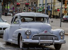 1948 Buick in 1st May cruising, Helsinki, Finland