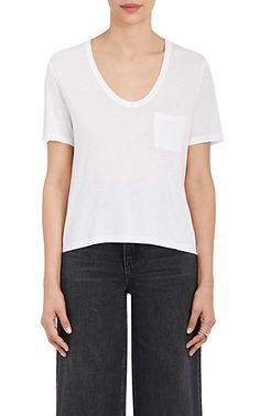 T by Alexander Wang Scoopneck T-Shirt - Tops - 505067150