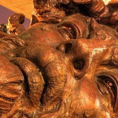 Vancouver Biennale Sculpture :  Cabeza Vainilla, Cabeza Córdoba, Cabeza Chiapas. Artist : Javier Marin  Mexico