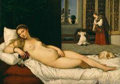 Tizian - Ruhende Venus