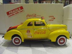 1940 COCA COLA Die-Cast Metal Salesman's Car