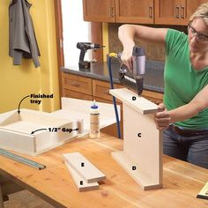 Kitchen Cabinet Storage Solutions: DIY Pull Out Shelves Kitchen Sink Storage, Cheap Kitchen Cabinets, Under Sink Storage, Kitchen Sinks, Extra Storage, Plywood Cabinets, Built In Cabinets, Storage Cabinets, Diy Pull Out Shelves