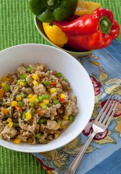 Savory Sauteed Chicken and Veggie Rice - The Artful Gourmet | The Artful Gourmet