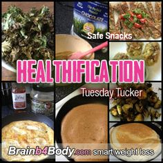 Eating great snacks comes down to planning more than discipline: http://www.brainb4body.com/167-tuesday-tucker-safe-snacks/