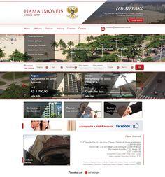 Hama Imóveis (2013) acesse: http://hamaimoveis.com.br