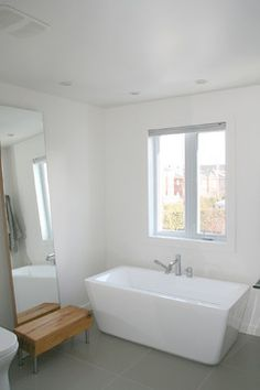Salle de bain - Other - furaxe Corner Bathtub, Alcove, Bathroom, Bath, Home, Bath Room, Bathrooms, Bathing, Bathtub