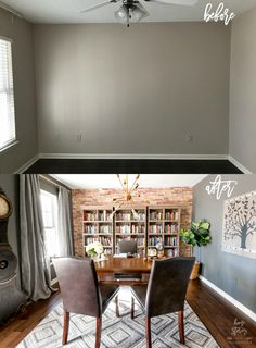 Masculine Office Makeover with #bhglivebetter #ad Home Office