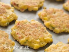 Photo about Close up of Tray of Sweet corn Fritters. Image of fritters, diner, lunch - 5621853 Real Food Recipes, Great Recipes, Cooking Recipes, Yummy Food, Favorite Recipes, Fall Recipes, Pasta Recipes, Dinner Recipes, Beignets