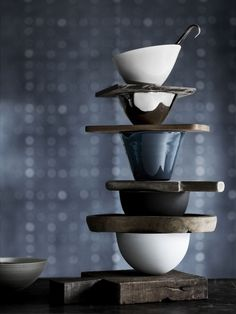 Modern stack for tea or coffee!