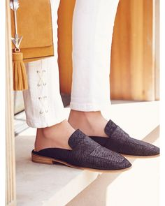 Buy Free People Women's Black At Ease Loafer, starting at $98. Similar products also available. SALE now on!