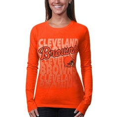 TWO DAYS ONLY: All Ladies & Kids apparel is marked down 15-40% at Fanatics! Get this Cleveland Browns T-shirt for only $19.51: http://pin.fanatics.com/NFL_Cleveland_Browns/on_sale/yes/Cleveland_Browns_Womens_Team_Repeat_Long_Sleeve_T-Shirt_-_Orange/source/pin-browns-ladies-sale-sclmp