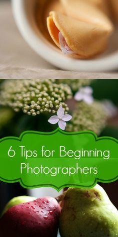 6 Tips for Beginning Photographers